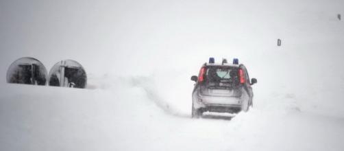 Terremoto e neve, Abruzzo a dura prova