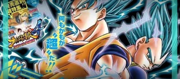 El nuevo manga de los super guerreros