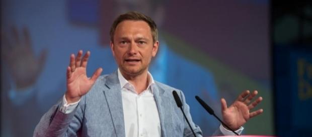 FDP-Chef Christian Lindner. (Fotoverantw./URG Suisse: Blasting.News Archiv)