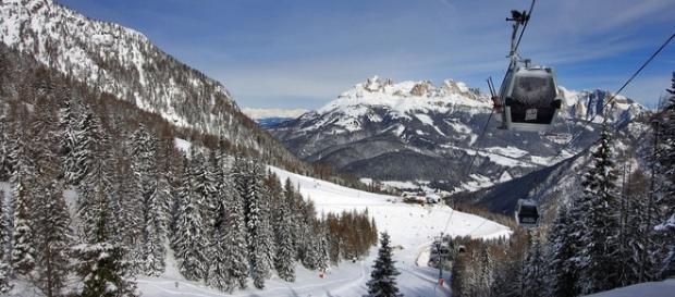 funivia Col dei Rossi - Val di Fassa - Trentino
