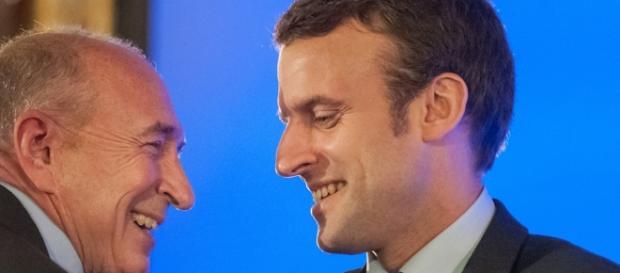 """Gérard Collomb: """"Macron est en train de débloquer la vie politique"""" - parismatch.com"""
