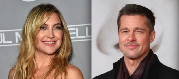 Kate Hudson e Brad Pitt (Getty Images)