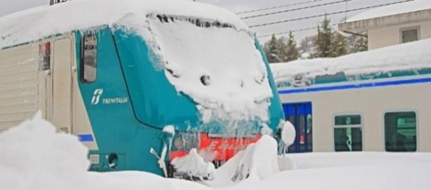 Piano neve di Trenitalia per l'Abruzzo