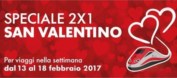 Speciale 2×1 San Valentino di Trenitalia