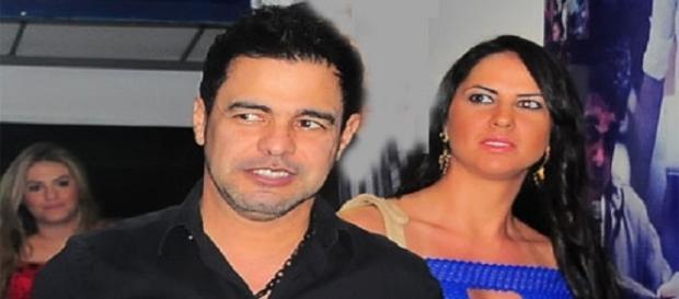 Zezé Di Camargo defende sua mulher