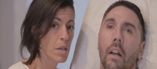 Dj Fabo e la fidanzata Valeria che legge l'appello a Mattarella