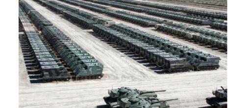 Exército Brasileiro recebe blindados dos Estados Unidos.