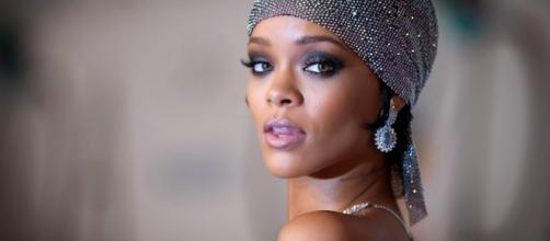 Rihanna fez uma sessão de nu artistico no Brasil