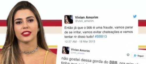 Vivian Amorim ainda nem entrou na casa e já gerou polêmica