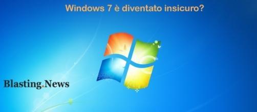 Windows 7 insicuro e non affidabile