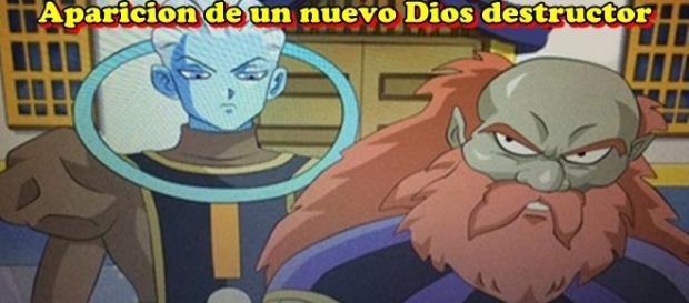 Dragon Ball Super: La aparición de un nuevo dios destructor y un ángel.