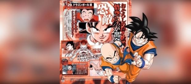 El extremo entrenamiento de Goku y Krilin comienza