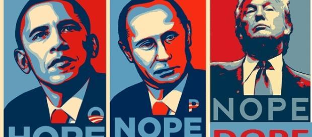 La célèbre affiche de la première campagne électorale d'Obama est copieusement et diversement détournée
