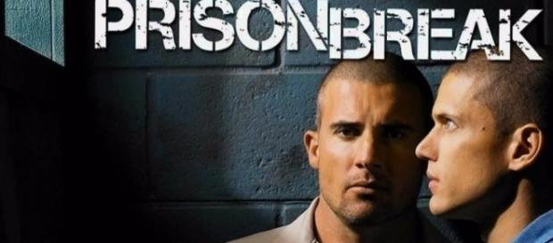 Lincoln Burrows (Dominic Purcell) e Michael Scofield (Wentworth Miller) em 'Prison Break'.