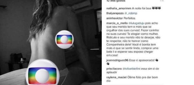 Marido divulga fotos íntimas de atriz global