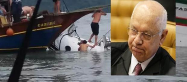 Ministro estava em avião que caiu
