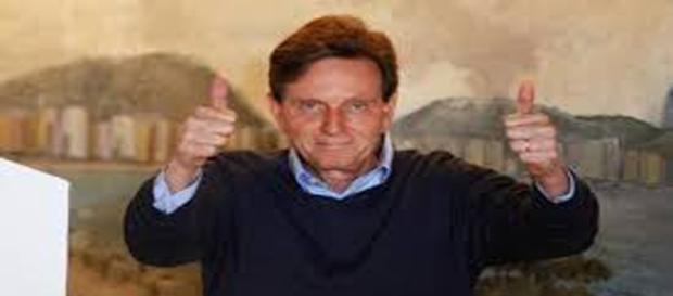Na foto, o atual prefeito do Rio de Janeiro, Marcelo Crivella