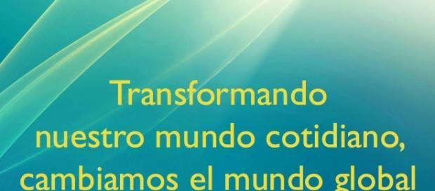 Podemos solucionar como seres individuales los problemas del mundo ... - anamkaralfundacion.org