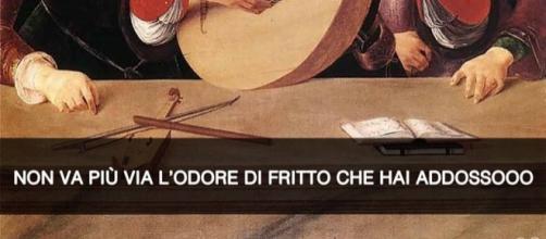 Concerto di Lorenzo Costa il Vecchio del 1495, letto da Stefano Guerrera nella sua pagina social.