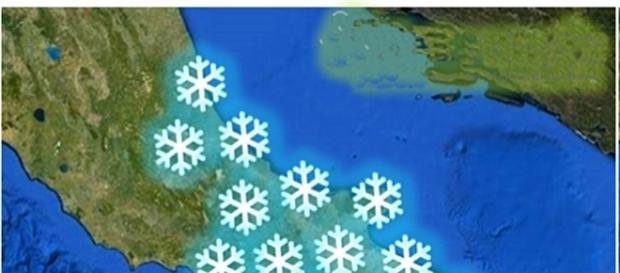 Epifania 2017: possibilità di nevicate nel Salento.