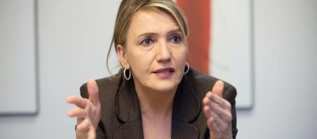 Grünen-Chefin Simone Peter. (Fotoverantw./URG Suisse: Blasting.News Archiv)