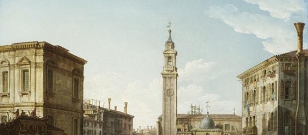 un quadro presente alla mostra sul Canaletto e Bellotto