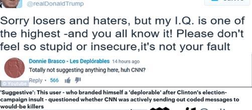 CNN ayant évoqué que le président puisse être tué ce soir, les internautes pour Trump (les déplorables) ont vivement réagi.