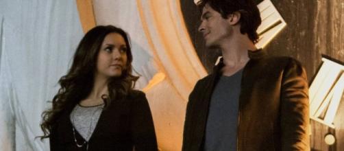 Damon e Elena juntos e uma morte dolorosa