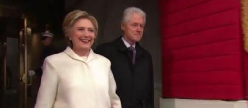 Hillary Clinton, Bill Clinton, via Twitter