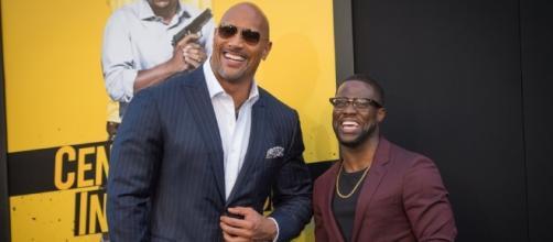 "Kevin Hart, Dwayne Johnson Talk Their ""Brotherly Chemistry"" at ... - hollywoodreporter.com"