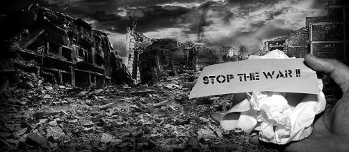 La sociedad exige acabar con la guerra. Public Domain