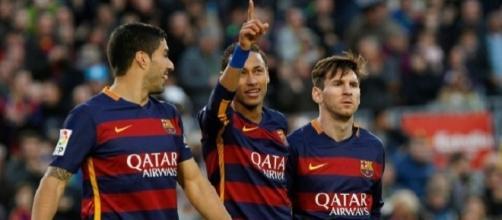 O trio MSN procura daar mais uma vitória ao Barça