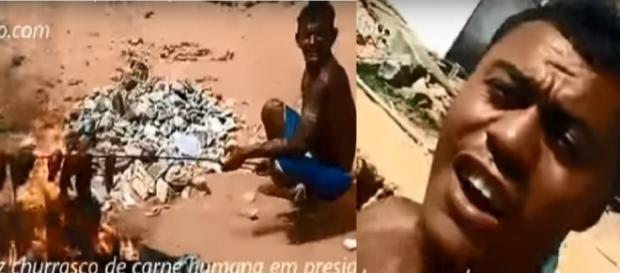 Bandidos queimaram carne humana após massacre e vídeo vazou