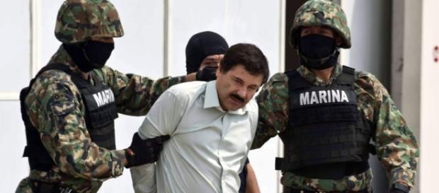 El Chapo Guzman extraditado a los Estados Unidos- foto cedida elheraldo.hn