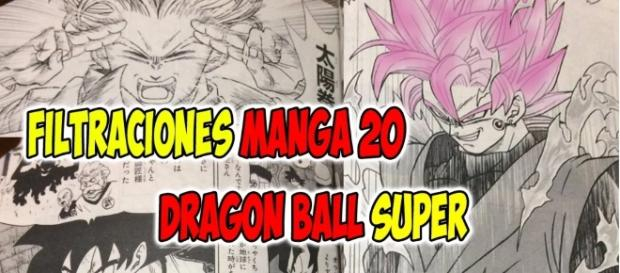 Filtraciones manga 20 dragon ball super