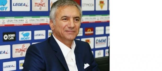 Il direttore sportivo del Lecce Mauro Meluso. Foto Salento Giallorosso.