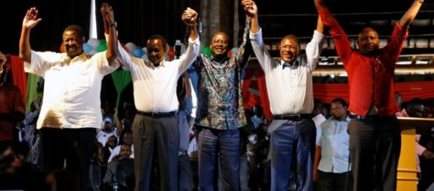 Kenya: Opposition leaders unveil National Super Alliance – Aquilatimes - aquilatimes.com