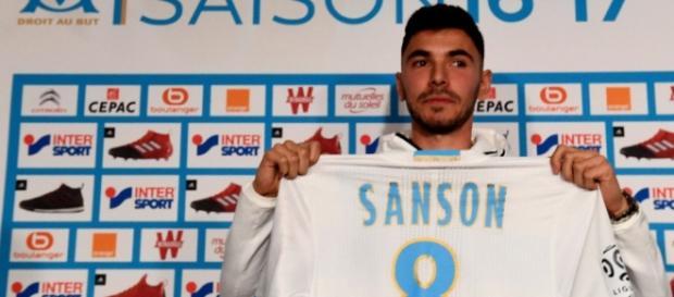 Morgan Sanson, nouveau joueur de l'Olympique de Marseille