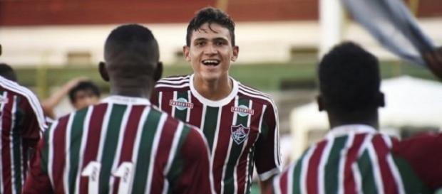 Pedro foi o destaque em último jogo-treino do Flu antes de estreia na temporada (Foto: Arquivo)
