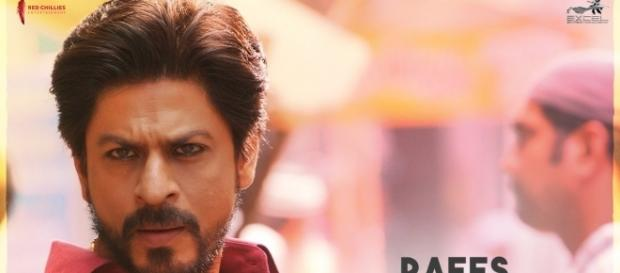 Shahrukh Khan from 'Raees' (Image credits: Twitter.com/Raeesthefilm)