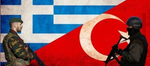 A Grécia sempre está em alerta por causa das constantes provocações turcas