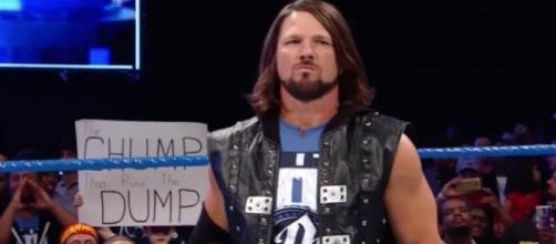 AJ Styles Robbed During WWE Live Event In Arkansas. - WWE