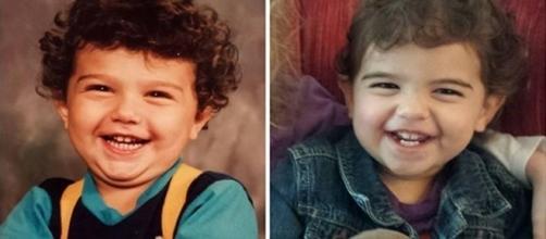 Algumas crianças são realmente muito parecidas com seus pais