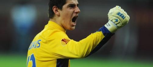 Avant Atlético-Barça, l'interview exclusive de Thibault Courtois ... - eurosport.fr