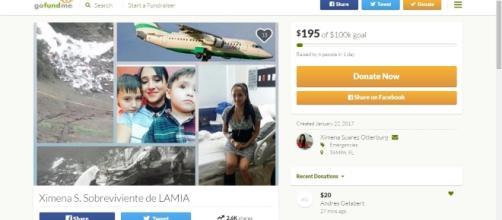 Comissária de bordo fez uma vaquinha pela internet para ajudar a criar os filhos após o desastre aéreo
