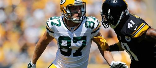 Jordy Nelson is the biggest question mark for the Packers on Sunday. - Green Bay Packers