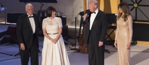 The President and First Lady - thesun.co.uk