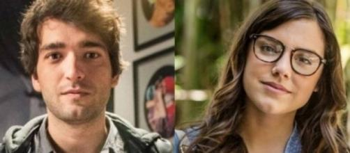 Tiago se encontra com Marina e sente ciúmes dela com um rapaz