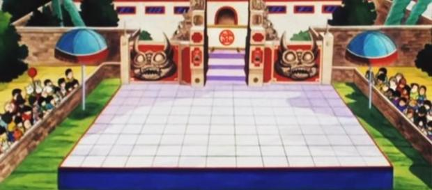 Escenario Budokai Tenkaichi de los primeros torneos