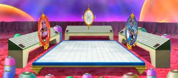 Escenario del torneo entre universos 6 y 7